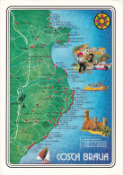 España--Gerona--Costa Brava--Plano Completo---17X12 - Mapas