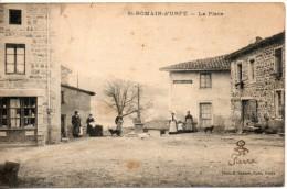 42. Saint Romain D'urfé. La Place - Otros Municipios