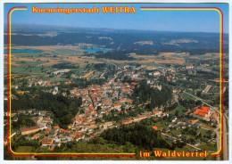 1) AK 3970 Weitra Im Waldviertel Luftbild Kuenringerstadt Fliegerfoto Österreich Luftaufnahme Vue Aerienne Aerial View - Weitra