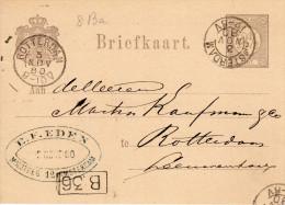 Bk G22  Amsterdam - Rotterdam 3 NOV 80 - Postal Stationery