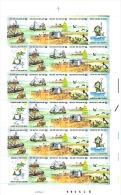 Feuille Complète Timbre 2273/2276 Année 1988 - La Mer - Feuilles Complètes