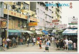 CN.- Hong Kong. Stanley Market. Bazaar. Kodak. . . 2 Scans - China (Hongkong)