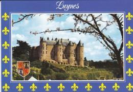 37----LUYNES---château De La Loire.--voir 2 Scans - Luynes