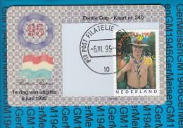 Netherlands - First Day Card FDC NVPH 1647 / World Jamboree 1995 - FDC