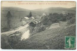 71 - CHISSEY-EN-MORVAN - (3.) - Quartier Du Bas Et Le Château Du Guidon - CPA - Francia
