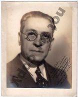 1938 MEXICO ENRIQUE GONZALES MARTINEZ WRITER NOBEL DEDICATED AUTOGRAPHED PHOTO - Autographs