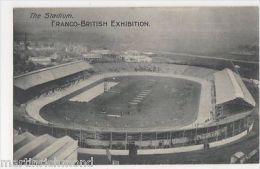 Franco British Exhibition, The Stadium Postcard, B432 - Expositions