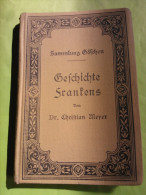 Geschichte Frankens, 1090, Christian Meyer, Met Briefje Prijsverhoging 80 Pfenning Naar 1 Mark,
