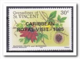 St. Vincent 1985, Postfris MNH, Flowers - St.Vincent (1979-...)