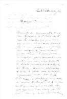 Docteurs CROLAS & PERNOT.Ballon Monté.sacoche Cachée à L´hôtel Des 3 Rois à Bâle Le 28 Octobre 1870. - Autographes