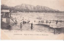 MARSEILLE  TRAMWAY  VIEUX PORT  CORNICHE PRADO MONTREDON - Marseilles