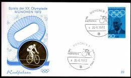 Germany Munich 1972 Olympic Games Munich 1972 Cycling - Ete 1972: Munich