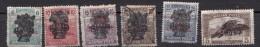 Hongrie  Timbres De 1919 Avec Surcharge   6 Valeurs - Hongrie