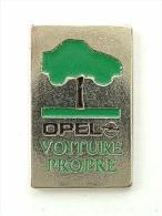 PIN´S OPEL - VOITURE PROPRE - Opel
