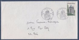 = Sainte Chapelle De Riom Enveloppe 1er Jour 63 Riom 19.6.71 N°1683 - 1970-1979