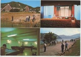 Chorges Résidence Les Hyvans CNPO Multivues : Pêcheurs Devant Hotel Salle Spectacle Billard Jeu De Boules (pétanque) - Autres Communes