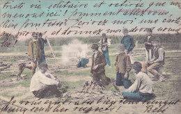 Halsütés A Balaton Partian (top Animation, Colorisée, To Genève, D K 1906) - Hongrie