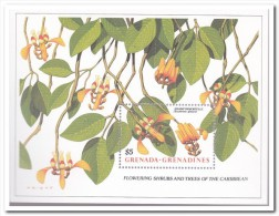 Grenadines 1988, Postfris MNH, Flowers - Grenada (1974-...)