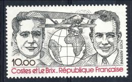 Francia PA 1981 N. 55 F. 10 Nero E Rosso MNH GO (gomma Originale Integra) Catalogo € 5 - 1960-.... Nuovi