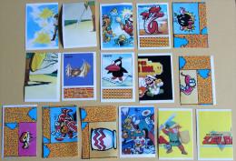 16 Vignettes Stickers NINTENDO Mario Bros ZELDA 1992 - Altri