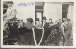 Haalter  -  Haaltert  -   FOTOKAART!  Koetsier Aan De Kerk Mijlebeke  -  Terjoden  -  Fanfare - Haaltert