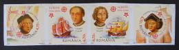 """CINQUANTENAIRE DES EMISSIONS DE TIMBRES-POSTE """"EUROPA"""" 2005 - BANDE NEUVE ** - YT 5011a/14a - MI 5974B/77B - NON-DENTELE - 1948-.... Républiques"""
