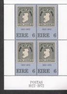 Irland Block 1 Irische Briefmarken ** MNH Postfrisch Neuf - Blocchi & Foglietti