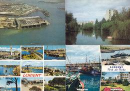 Beau Lot De 12 CPM LORIENT - Lorient