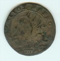 ITALY VENICE - VENEZIA, CRETE - CANDIA 60 TORNESI  JIOVANI CORNER 1625 - 1629 - Venice