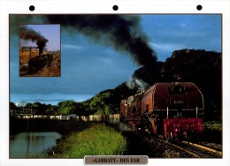 """Fiches Trains : Collection Atlas : Locomotive """" Garrat Des EAR """" - Trains"""