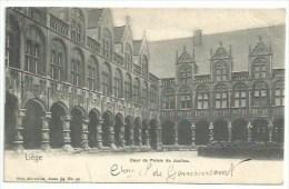 Belgique - Liège - Cour Du Palais De Justice - Lüttich