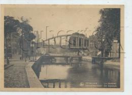 Termonde (Belgique, Flandre Orientale) : Le Pont Au Dessus De L'écluse Sur La Drendre Env 1945 (animée) GF. - Belgique