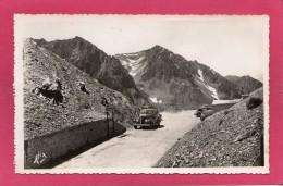 65 HAUTES-PYRENEES, Pic Du Midi De Bigorre & Col Du Tourmalet, Le Sommet Du Col, Animée,  Voitures, (Alix) - Unclassified