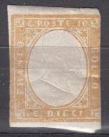 Italy States Sardinia Sardegna 1855 Sassone#14E Mint Hinged - Sardinia