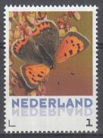 Nederland - Uitgiftedatum 6 Maart 2015 – Vlinders/Butterflies – Kleine Vuurvlinder - Lycaena Phlaeas - MNH/po - Vlinders