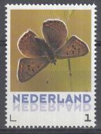 Nederland - Uitgiftedatum 6 Maart 2015 – Vlinders/Butterflies – Bruine Vuurvlinder - Lycaena Tityrus - MNH/po - Vlinders