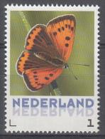 Nederland - Uitgiftedatum 6 Maart 2015 – Vlinders/Butterflies – Grote Vuurvlinder - Lycaena Dispar - MNH/post - Vlinders