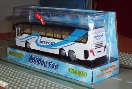 Bus De Transport Pour L'aéroport ( Avec Son Et Lumière ) échelle 1/43 ème - Utilitari