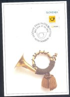Slovenia Slowenien Slovenie Maximum Card 1995: Postal Horn; - Correo Postal