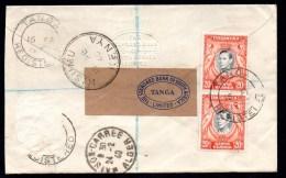Tanganyika Territory  Enveloppe Cover Tanga 16 02 1940 En Recommandé Registered Pour L' Algérie  Voir Scan - Kenya, Uganda & Tanganyika