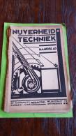 Nijverheid En Techniek, Maandblad, Januari 1938, 33 Ste Jaargang Nr 1, Kaft En Sommige Bladeren Los: Zie Foto - Revistas & Periódicos