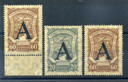 1923-28 COLOMBIA POSTA AEREA - SOPRASTAMPA A / ALLEMAGNE - Colombia