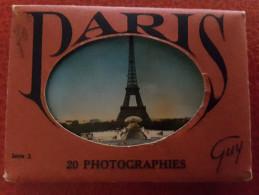Album Photos Souvenir De PARIS - Albums & Collections