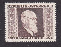 Austria, Scott #B170, Mint Never Hinged, Pres Karl Renner, Issued 1946 - 1945-.... 2a Repubblica