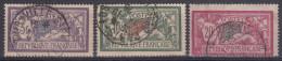 Francia 1925/26 206/08 Usado - Used Stamps
