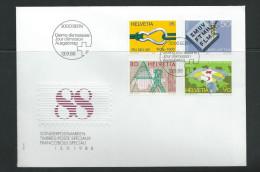 Schweiz 1988 FDC Mi 1676 - 1379  Jahresereignisse - FDC