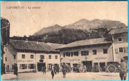 CAPORETTO - KOBARID Street Scene Soldiers ( Slovenia ) Travelled 1916. To Roma Posta Militare DIVISIONE SPECIALE Italia - Slovenia
