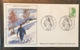 FRANCE - 1986 - FDC  N°1440 - N° Y&T 2423 - Petite Enveloppe Oblitérée 01.08.86 à Paris (75) - 1980-1989