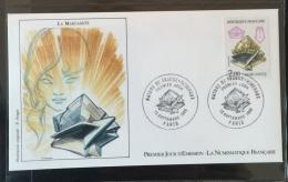 FRANCE - 1986 - FDC  N°1444 - N° Y&T 2429-2432 - Oblitérées 13.09.86 à Paris (75) - 1980-1989