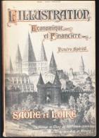 Département De Saone Et Loire En 1924 - Ressources, Agriculture, Industries, Nombreuses  Illustrations - Livres, BD, Revues